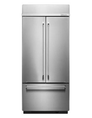 KBFN506ESS-36 inch Wide, 20.8 Cu. Ft, French Door Refrigerator- Stainless Steel photo