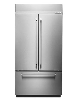 KBFN502ESS-42 inch Wide, 24.2 Cu. Ft, French Door Refrigerator- Stainless Steel photo