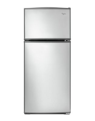 WRT316SFDM 16 cu. ft. Wide Top-Freezer Refrigerator with Improved Design- Stainless Steel photo
