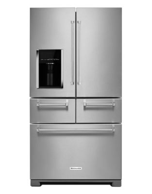 25.8 Cu. Ft. 36-Inch Multi-Door Freestanding Refrigerator with Platinum Interior Design - Stainless photo