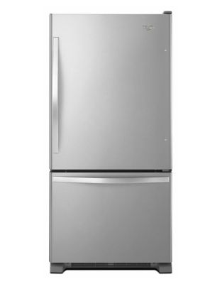 19 cu. ft. Bottom-Freezer Refrigerator with Freezer Drawer photo