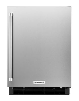 KURR104ESB 4.9 cu. ft. Undercounter Refrigerator with LED Interior Lighting- Stainless Steel photo