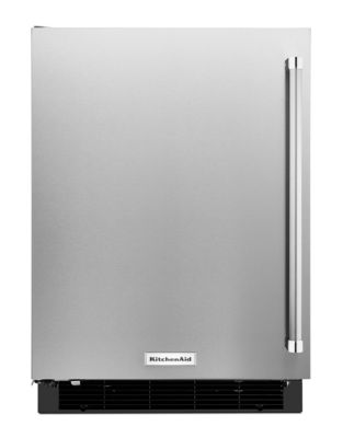KURL104ESB 4.9 cu. ft. Undercounter Refrigerator with LED Interior Lighting- Stainless Steel photo