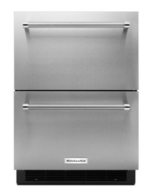KUDR204ESB 4.7 cu. ft. Double Refrigerator Drawer with LED Interior Lighting- Stainless photo