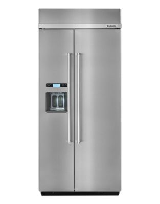 KBSD606ESS-36 inch Wide, 20.8 Cu. Ft, Side by Side Refrigerator- Stainless Steel photo