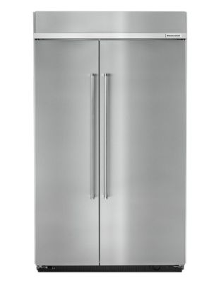 KBSN608ESS-48 inch Wide, 30 Cu. Ft, Side by Side Refrigerator- Stainless Steel photo