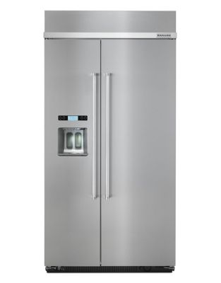 KBSD608ESS-48 inch Wide, 29.5 Cu. Ft, Side by Side Refrigerator- Stainless Steel photo