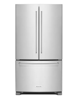 KRFC300ESS 36-Inch Wide 20 cu. ft. Counter-Depth French Door Refrigerator - Stainless Steel photo