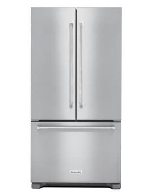 KRFC302ESS 22 cu. ft. Counter Depth French Door Refrigerator - Stainless Steel photo