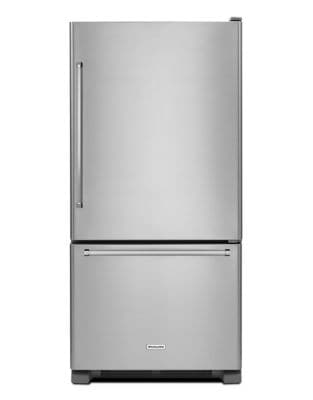 KRBR109ESS 30-Inch Wide 19 cu. ft. Full Depth Bottom Mount Refrigerator - Stainless Steel photo