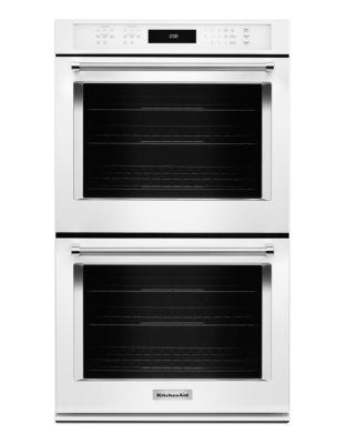 KODE507EWH 27-inch Electric Double Wall Oven with Even-Heat True Convection - White photo