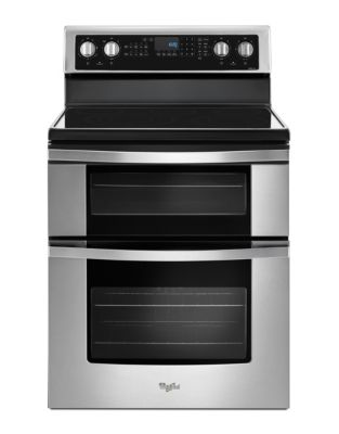 YWGE745C0FS - 6.7 Cu. Ft. Electric Double Oven Range with True Convection - Stainless Steel photo