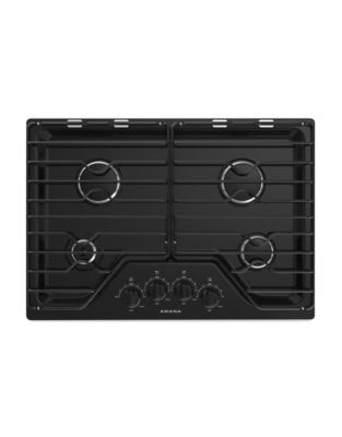 AGC6540KFB - 30-inch Gas Cooktop with 4 Burners Black photo