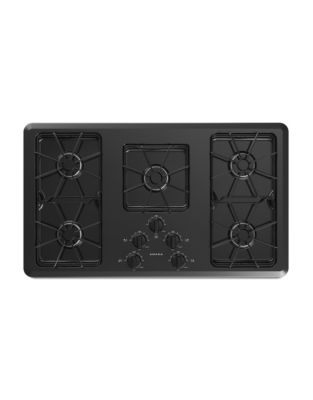 AGC6356KFB - 36-inch Gas Cooktop with Front Controls Black photo