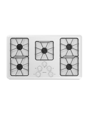 AGC6356KFW - 36-inch Gas Cooktop with Front Controls White photo