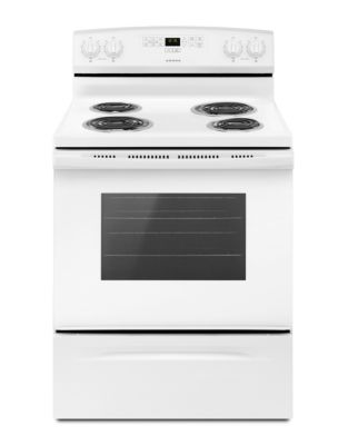 YACR4303MFW - 30-inch Electric Range with Bake Assist Temps White photo
