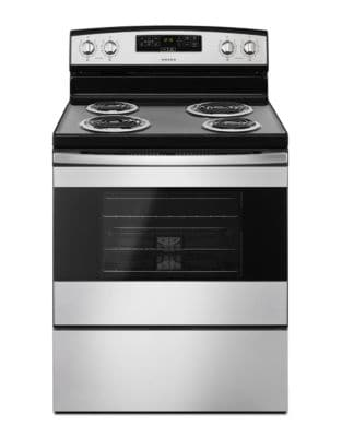 YACR4303MFS - 30-inch Electric Range with Bake Assist Temps Black-on-Stainless photo
