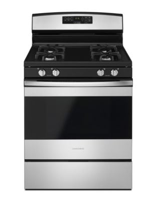 AGR6603SFS - 30-inch Gas Range with Self-Clean Option Black on Stainless photo