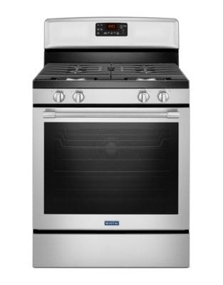 MGR8650FZ - 30-INCH GAS RANGE WITH FAN CONVECTION AND MAX CAPACITY RACK - Fingerprint Resistant Stainless Steel photo