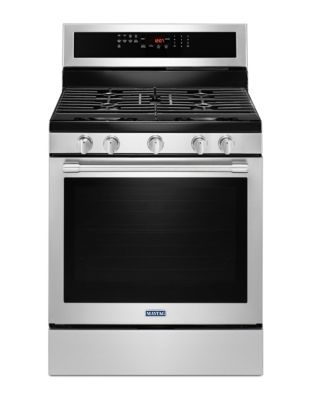 MGR8800FZ - 30-INCH GAS RANGE WITH TRUE CONVECTION AND POWER PREHEAT - Fingerprint Resistant Stainless Steel photo