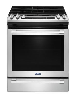 MGS8800FZ - 30-INCH GAS RANGE WITH TRUE CONVECTION AND MAX CAPACITY RACK - Fingerprint Resistant Stainless Steel photo