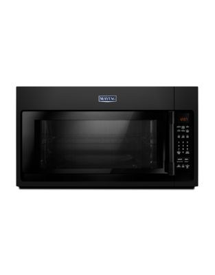 YMMV4206FB Over-The-Range Microwave With Interior Cooking Rack - 2.0 Cu. Ft. Black photo