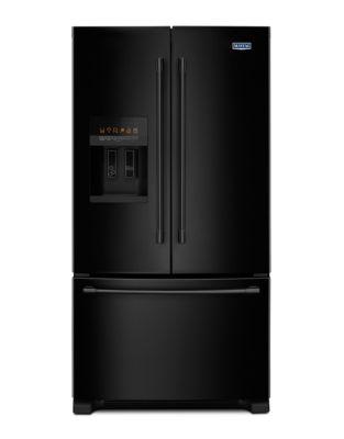 MFI2570FEB - Réfrigérateur à portes françaises noir avec fonction PowerCold photo