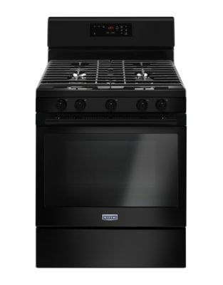 MGR6600FB - 30-INCH GAS RANGE WITH 5TH OVAL BURNER - 5.0 CU. FT. Black photo