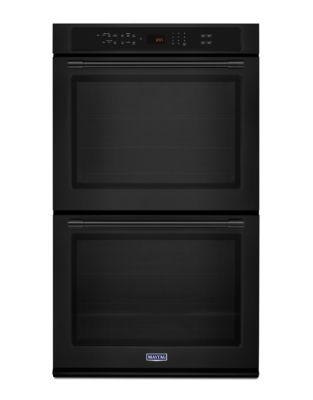 MEW9630FB - 30-inch Double Wall Oven with True Convection- 10.0 CU. FT. Black photo