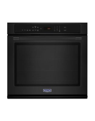 MEW9527FB - 27-INCH SINGLE WALL OVEN WITH TRUE CONVECTION - 4.3 CU. FT. Black photo