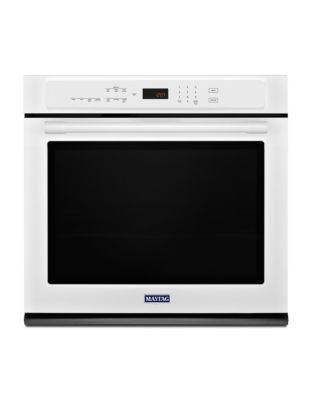 MEW9527FW - 27-INCH SINGLE WALL OVEN WITH TRUE CONVECTION - 4.3 CU. FT. White photo