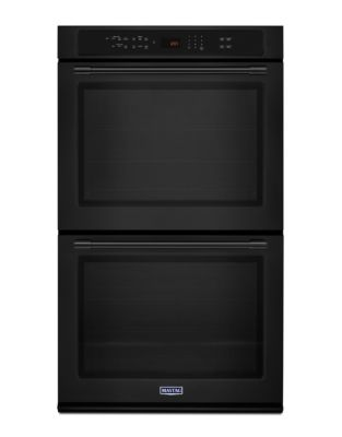 MEW9627FB - 27-INCH DOUBLE WALL OVEN WITH TRUE CONVECTION - 8.6 CU. FT. Black photo