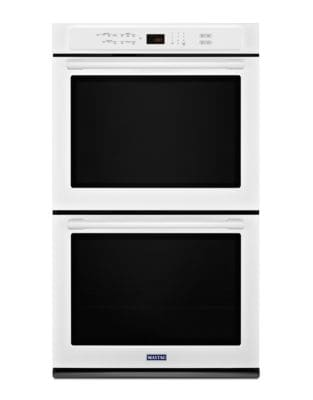 MEW9627FW - 27-INCH DOUBLE WALL OVEN WITH TRUE CONVECTION - 8.6 CU. FT. White photo