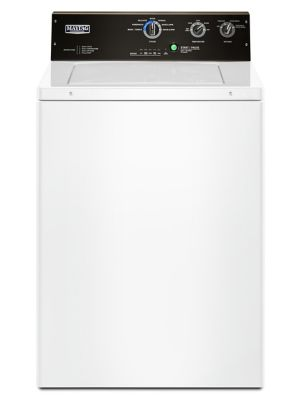 MVWP575GW - 4 cu. ft. Commercial-Grade Residential Agitator Washer - White photo
