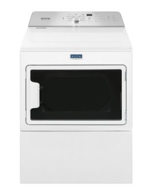 YMEDB765FW - Large Capacity Electric Dryer with IntelliDry Sensor White photo
