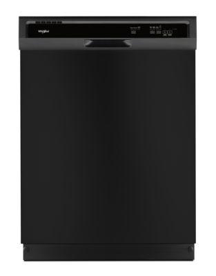 WDF330PAHB - Heavy-Duty Dishwasher with 1-Hour Wash Cycle Black photo