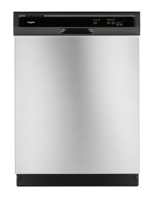 WDF330PAHS - Heavy-Duty Dishwasher with 1-Hour Wash Cycle Stainless Steel photo