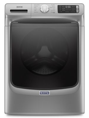 MHW6630HC - Front Load Washer with Extra Power and 16-Hr Fresh Hold® option - 5.5 cu. ft. - Metallic Slate photo