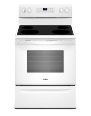 YWFE521S0HW 5.3 cu. ft. guided Electric Freestanding Range with True Convection Cooking photo