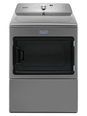 YMEDB765FC - Large Capacity Electric Dryer with IntelliDry® Sensor - 7.4 cu. ft. - Metallic Slate photo