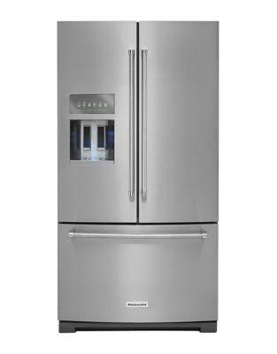 KRFF507HPS KitchenAid StainlessSteel French Door Refrigerator photo