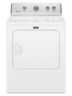 MGDC465HW - Large Capacity Top Load Dryer with Wrinkle Control - 7.0 cu. ft. - White photo