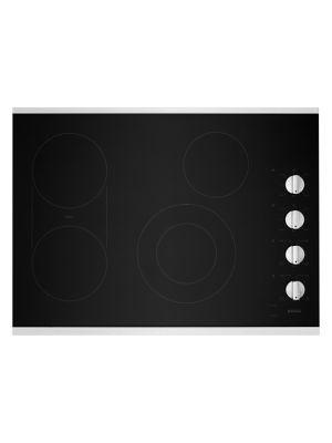 MEC8830HS, Table de cuisson électrique avec gril et plaque chauffante réversible de 76 cm, acier inoxydable photo