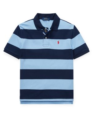 517f202d8 QUICK VIEW. Ralph Lauren Childrenswear. Boy s Striped Cotton Mesh Polo