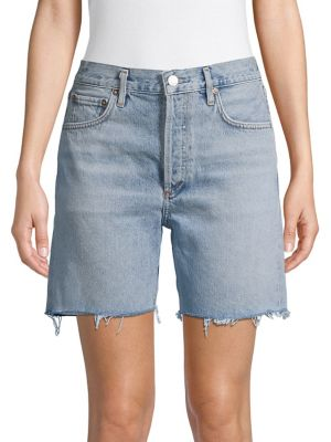 8e4087d641 Product image. QUICK VIEW. AGOLDE. Frayed-Hem Denim Shorts