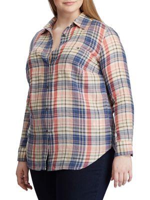 e06efd3a8c25 Women - Women's Clothing - Plus Size - Tops - thebay.com