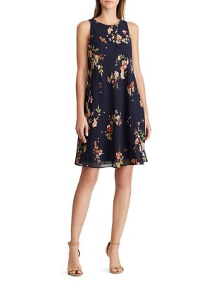 ef6bc89774c QUICK VIEW. Lauren Ralph Lauren. Floral Georgette A-Line Dress