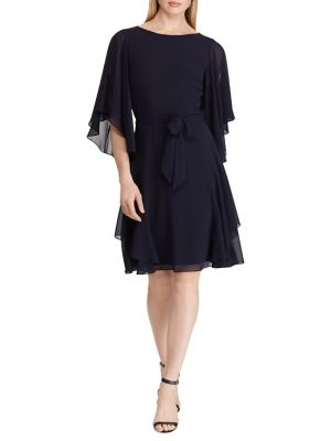 add8e07ca2 QUICK VIEW. Lauren Ralph Lauren. Ruffled Georgette Cocktail Dress