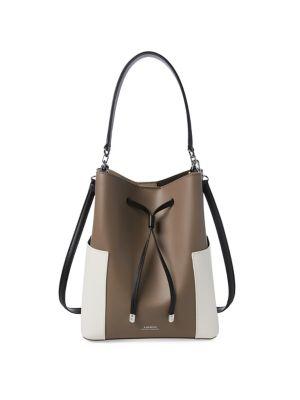 4fa8957be3 QUICK VIEW. Lauren Ralph Lauren. Classic Leather Bucket Bag