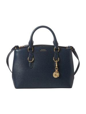 Product image. QUICK VIEW. Lauren Ralph Lauren. Mini Saffiano Leather  Satchel b124f9647dfe8